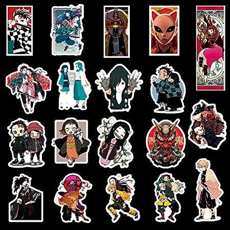 Demon Slayer Stickers 50Pcs