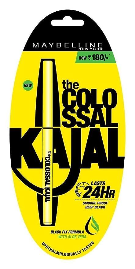 81aad3c7073 Buy Maybelline New York Colossal Kajal, Black, 0.35g Online at Low ...