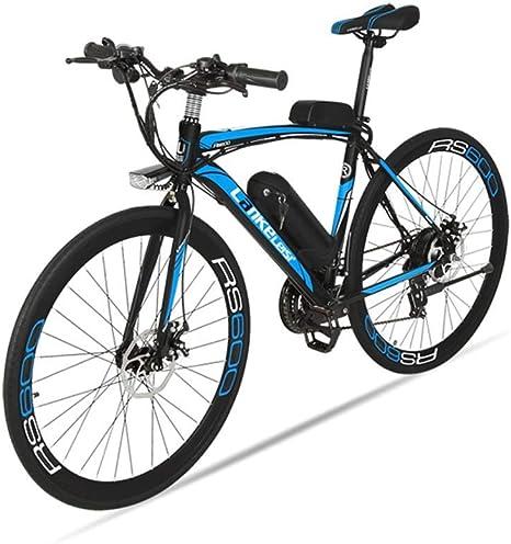 MERRYHE Bicicleta eléctrica para Adultos Bicicleta eléctrica de ...