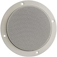 Jensen 1102094W White 5 Dual Cone Entry Level Speaker