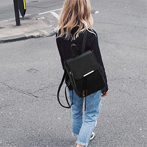 Bandoulière d'une Dos à Fille à Petit Le Un Sac Une Fashion avec noir Houyediyi Dame Sac et q68ItpnpZ