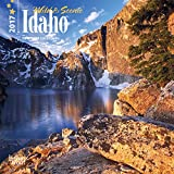 Idaho Wild & Scenic - 2017 - 7inch x 7inch US America State Hanging Mini Square Wall Photographic Nature Planner Calendar