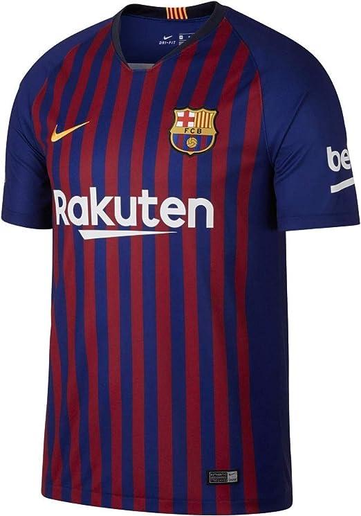 NIKE Fútbol Club Barcelona - Camiseta Hombre: Amazon.es: Ropa y accesorios