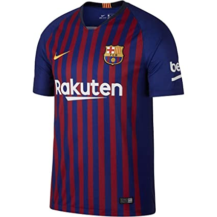 0fd6b666 Nike Men's Fc Barcelona Stadium Short Sleeve HM T-Shirt, Small' Deep Royal