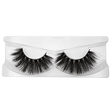 f9829860868 Amazon.com : NewKelly Mink Fake Eyelash 3D Reusable Thick Full Strip  Muti-layer Handmade Long Cross 1 Pair False Lash : Beauty