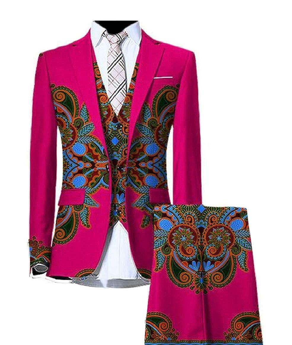 405cf11c9bee4c 1 pujingge-CA Men Long Sleeve African Traditional Traditional Traditional  Print Suit Blazers + Vest + Pant Set a6afff