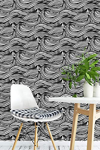 (Removable Peel and Stick Wallpaper, Abstract Mural Wallpaper, Removable for Interior Design, Decor you walls for any occasion (R14))