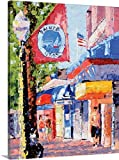 "Canvas On Demand Leslie Saeta Premium Thick-Wrap Canvas Wall Art Print, 16"" x 20"", entitled 'Balboa Island'"