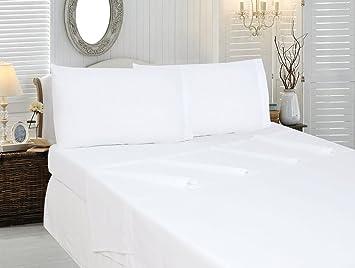 Best Seller Luxurious Egyptian Cotton Bed Sheets Set On Amazon! HS Linen  Brand 400 Thread