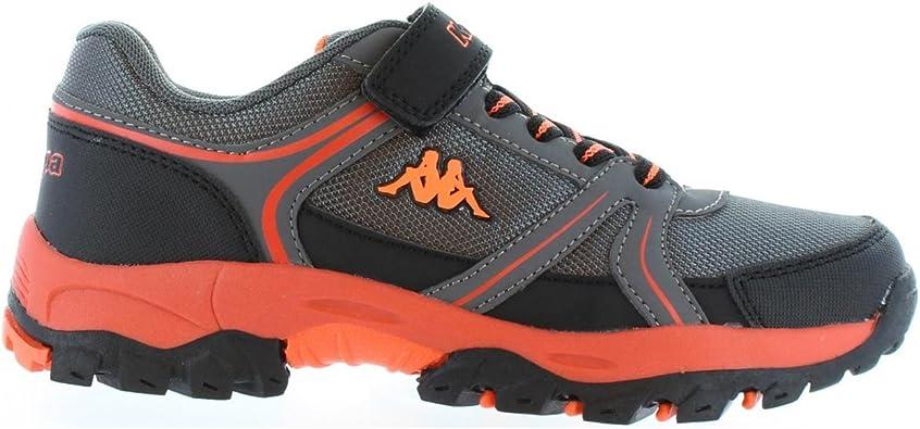 Kappa Zapatillas Deporte de Niño y Niña y Mujer 303PTM0 Kily 943 Grey-Red: Amazon.es: Zapatos y complementos