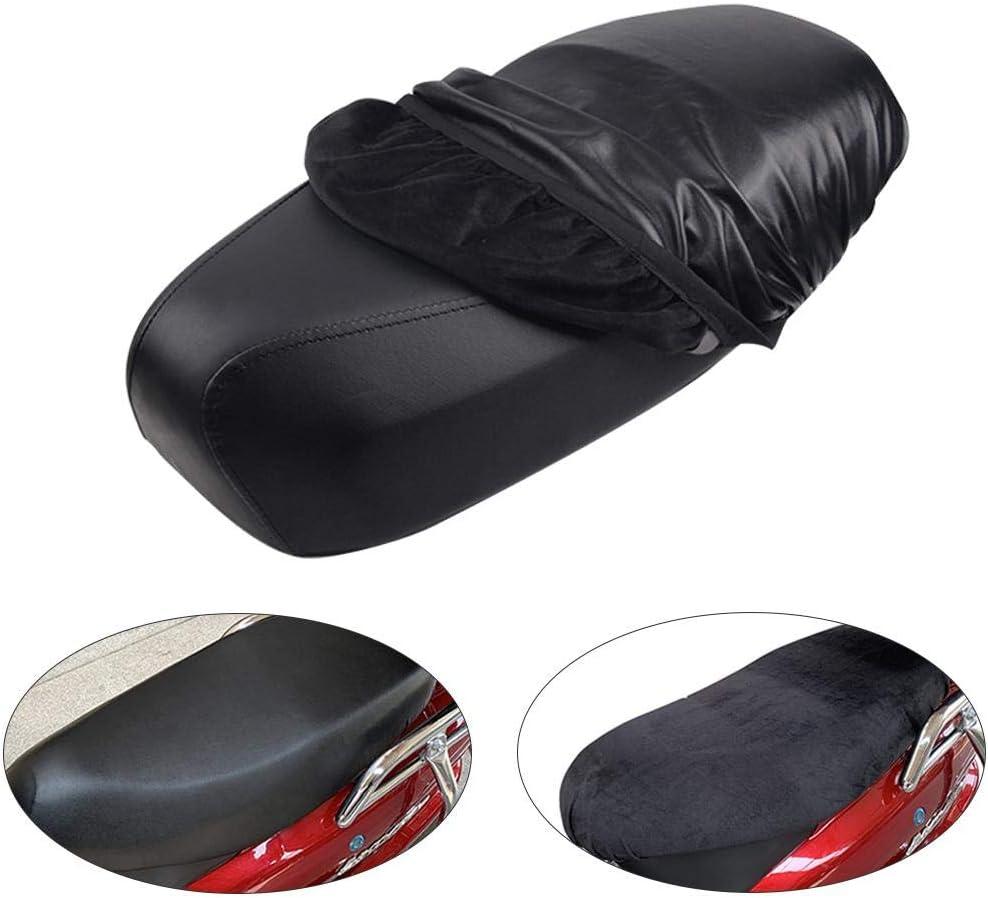 Dequate Leder Motorrad Sitzabdeckung Wasserdicht Verschlei/ßfeste Universal Motorrad Roller ATV Leder Seat Protector