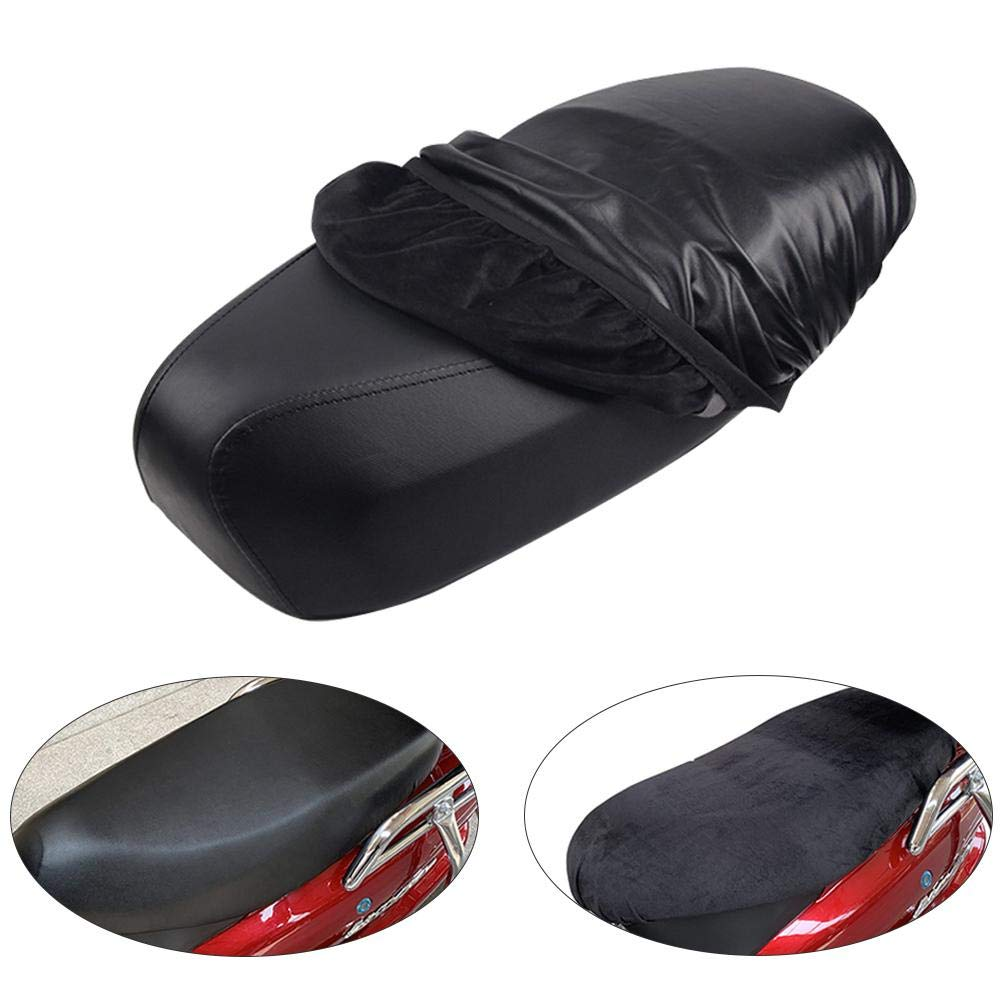 Motorcycle Scooter Moped Seat Cover Seat Motorcycle Cover Lightweight Seat Cover Outdoor Waterproof Rain Dust UV Protector thelastplanet Leather Motorcycle Seat Cover