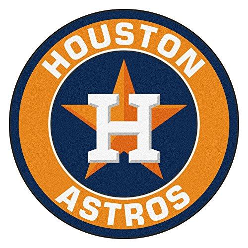 Floor Rug Astros Houston - FANMATS 18136 MLB Houston Astros Roundel Mat