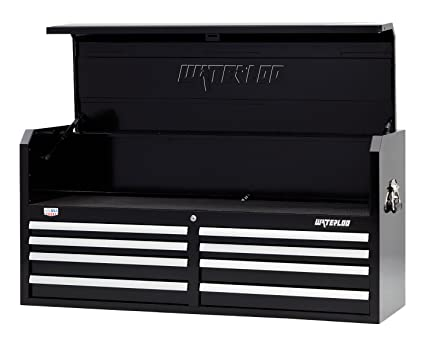 Waterloo W500 Series 8 Drawer Tool Chest With Open Till Design And Patented  Posi
