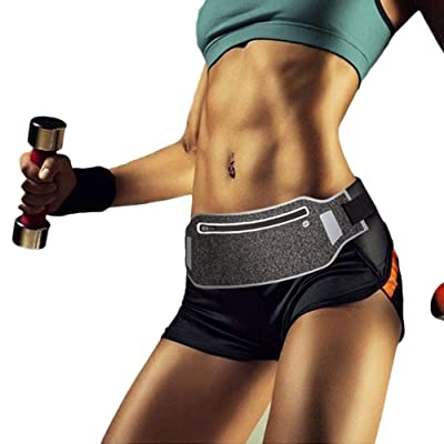 ZOORON Running Waist Belt,Ultra Slim Reflective...