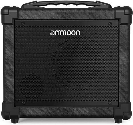 ammoon 10W Amplificador de Guitarra Eléctrico Portatil, Sonido ...