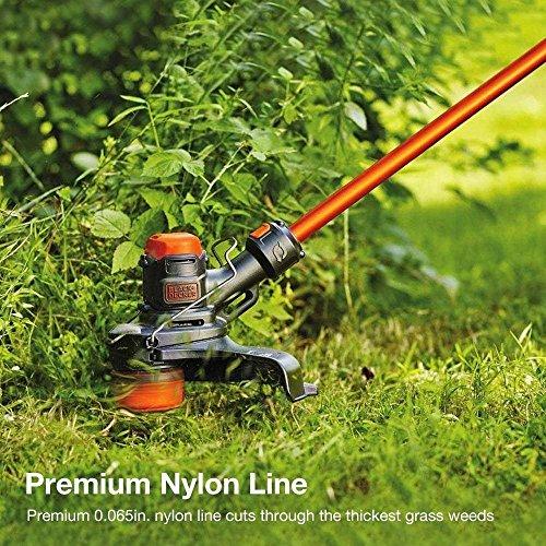 JUMYGEAR Line String Trimmer Spools Replacement Black Decker, Black Decker  Weed Eater Spool String, Weed Wacker line AF-100 30ft 0 065