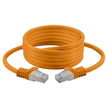 7.5m Cat 7 Ethernet-Kabel, halogenfrei 600 MHz: Amazon.de: Computer ...