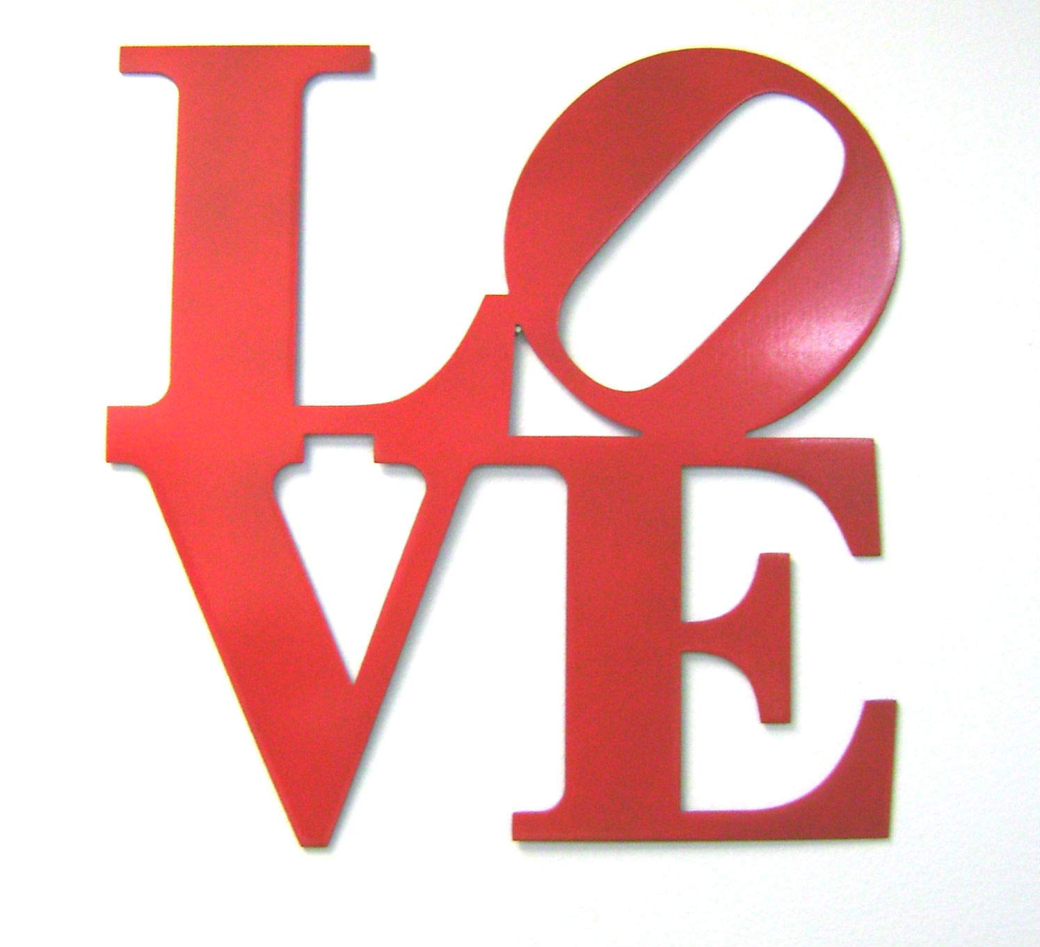 Love The Sign.Amazon Com Ps 12 Red Metal Love Sign Wall Decor Philly