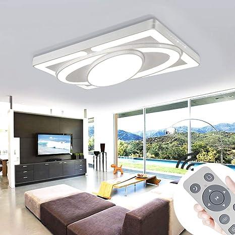 MYHOO 78W Regulable led luz de techo moderna lámpara de techo del pasillo dormitorio de la lámpara sala de estar