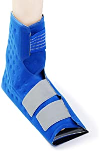 Cold Water Therapy Ankle and Foot Wrap for Cryotherapy Unit - Pad Only for Circulating Ice Machine for Feet, Ankle, Toes