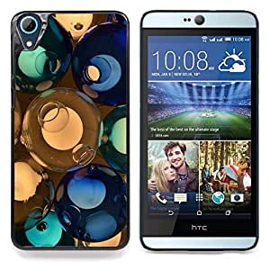 "For HTC Desire 826 , S-type svetilnik shary steklo cvet"" - Arte & diseño plástico duro Fundas Cover Cubre Hard Case Cover"
