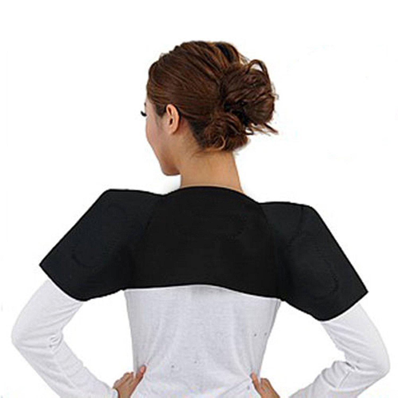 Turmalina Terapeutica Magnetica para el Dolor de Espalda Vertebras Dorsales y Hombros Magnetoterapia 4214_salud: Amazon.es: Salud y cuidado personal