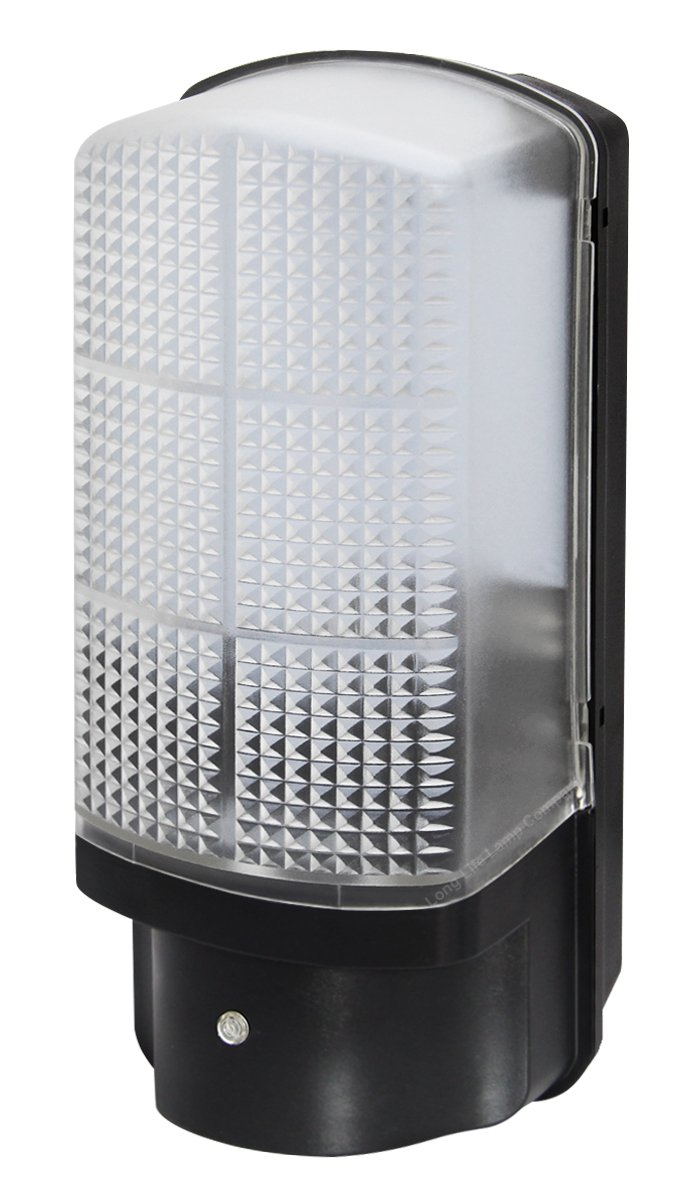7w LED Bulkhead Dusk to Dawn Sensor Security Light Very Bright 100w ...
