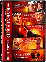 The Karate Kid 5-Movie Collection (The Karate Kid / The Karate Kid (Part 2) / The Karate Kid (Part 3) / The Ne