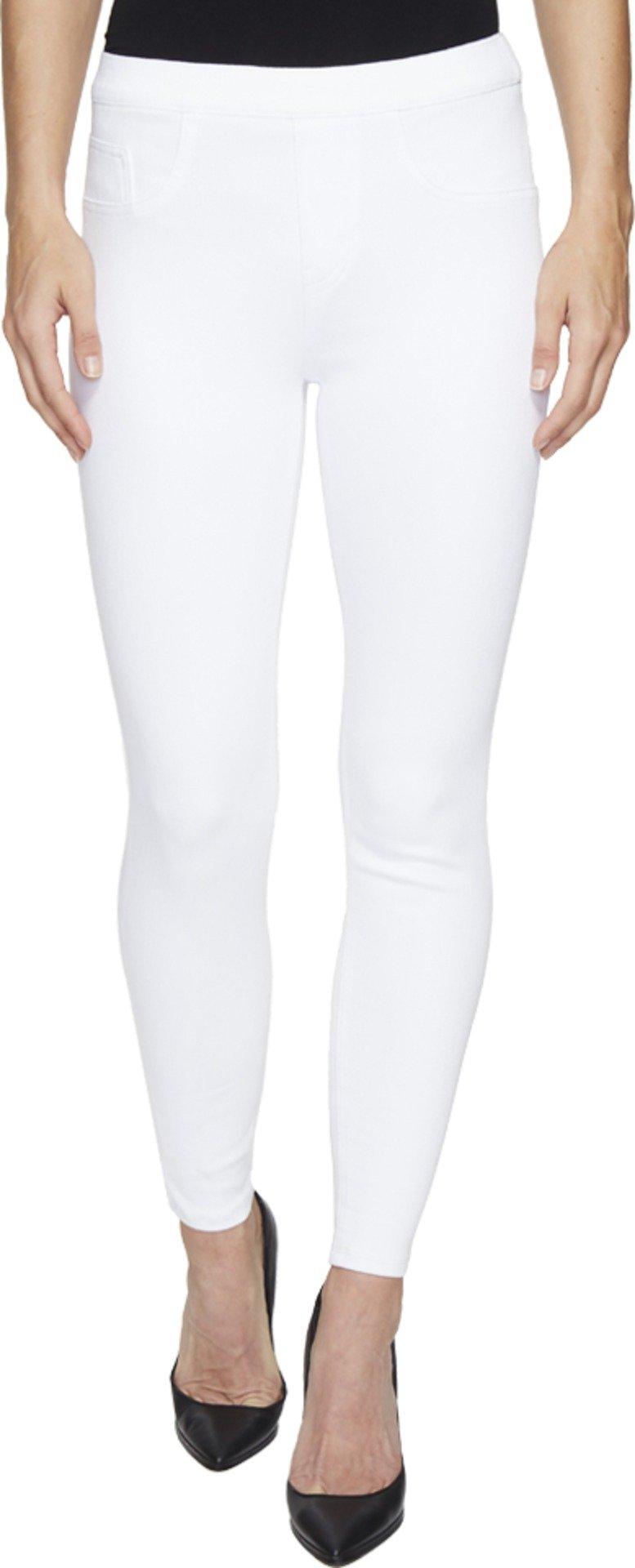 SPANX Cropped Denim Leggings, S, White