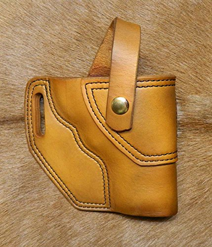 Gary C's Leather OWB Avenger RH Leather Holster for Smith & Wesson N Frame 3