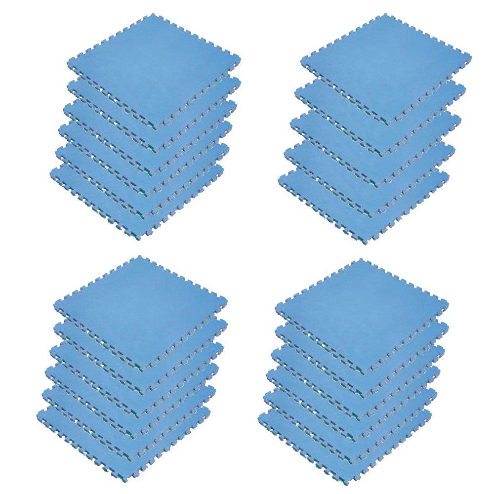 ボディメーカー(BODYMAKER) リバーシブルジョイントマット2.0 100×100×2cm レッド×ブルー 23枚 B01DLVPA8Q