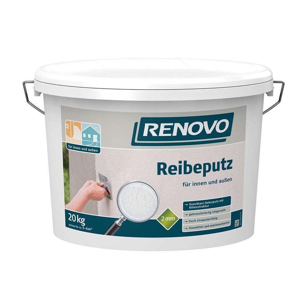 Gut bekannt Reibeputz innen und aussen 2mm 20 Kg Renovo: Amazon.de: Baumarkt FC69