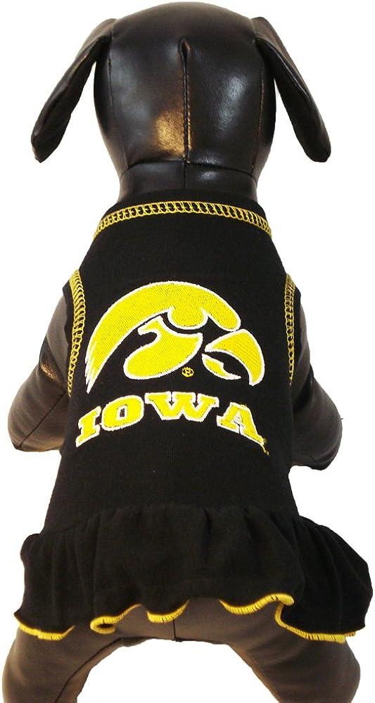 NCAA Iowa Hawkeyes Cheerleader Dog Dress