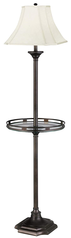 Kenroy Home 33052BBZ Wentworth Floor Lamp, Burnished Bronze