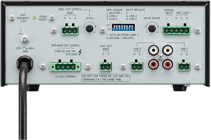 TOA BG-235 CU 35 Watt-Amplifier-70 VOLT..NEW IN BOX!