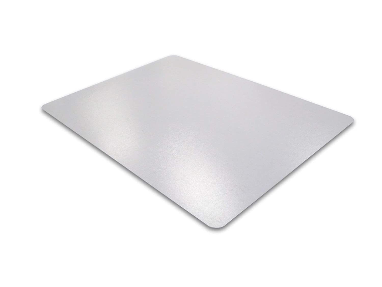 "Cleartex Ultimat Chair Mat, Clear Polycarbonate, For Hard Floors, Rectangular, Size 48"" x 60"" (FR1215219ER)"