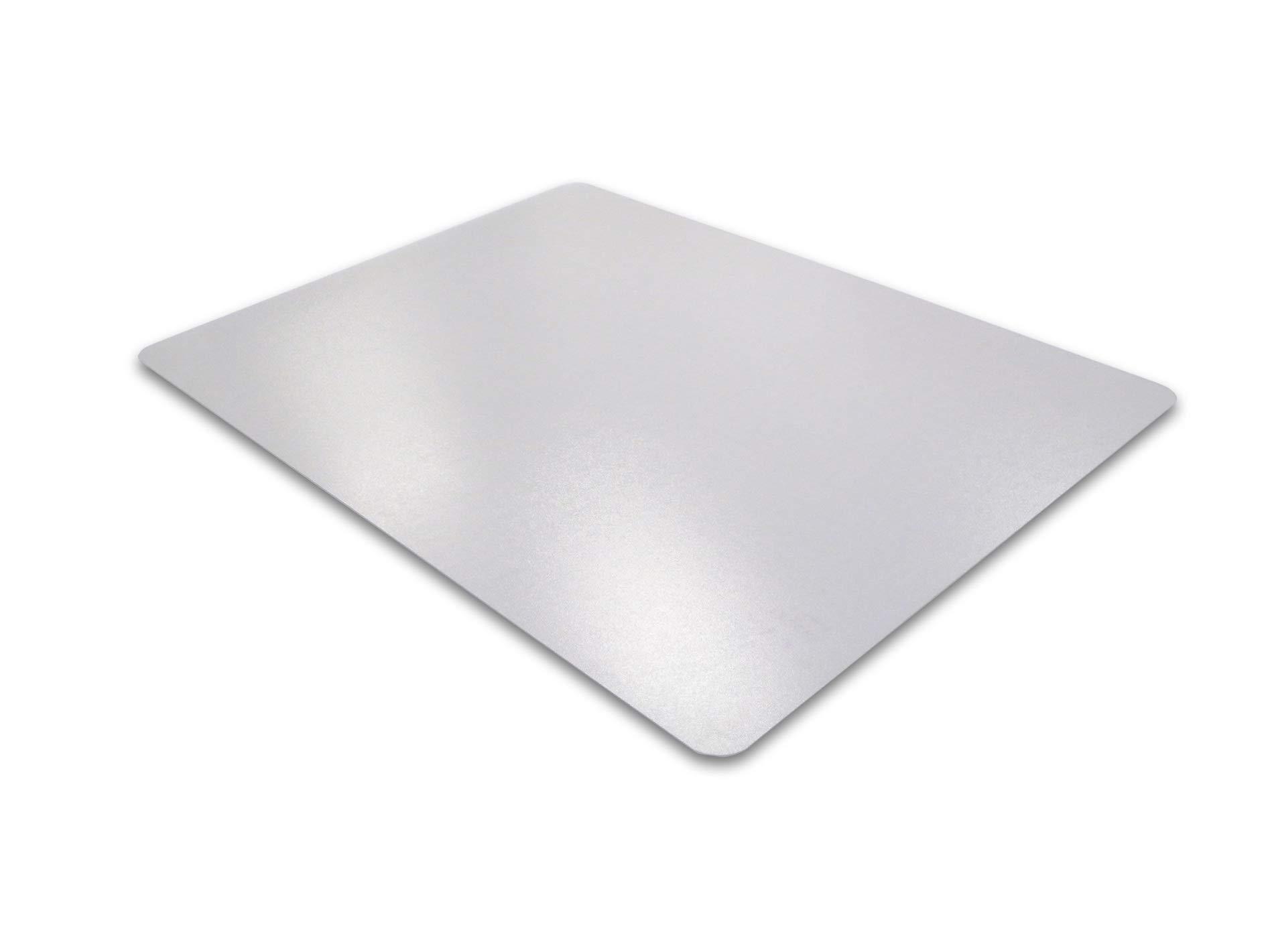 Floortex Advantage mat PVC Chair Mat for Hard Floors/Carpet Tiles, 48'' x 60'', Rectangular, Clear (FR1215020EV)