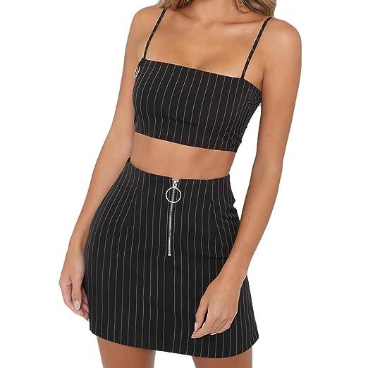 0bc7dc1e2dd WM   MW Women s High Waist Casual Party Pencil Skirt Ladies Fashion Zipper  Striped Mini Skirt