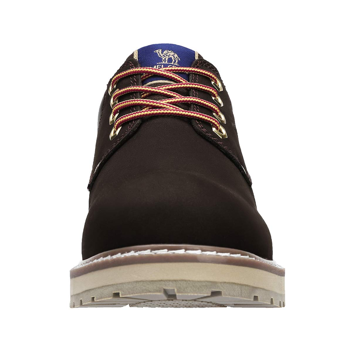 CAMEL CROWN Sicherheitsschuhe Arbeitsschuhe Herren, Freizeitschuh Workwear Schuhe Herren (Dunkelbraun, 44 EU)