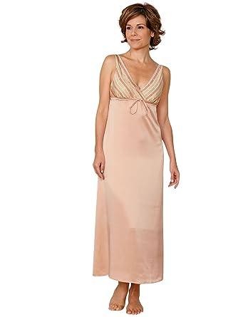 b30ef22868 Schweitzer Linen Whitney Nightgowns, Blush (Medium) at Amazon ...