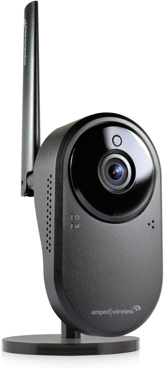 Amped LRC200 Wireless Apollo PRO, Long Range HD Wi-Fi Camera, Black