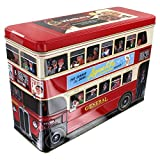 Walkers Shortbread Scottish Biscuit Selection, 15.8-Ounce London Bus Tin