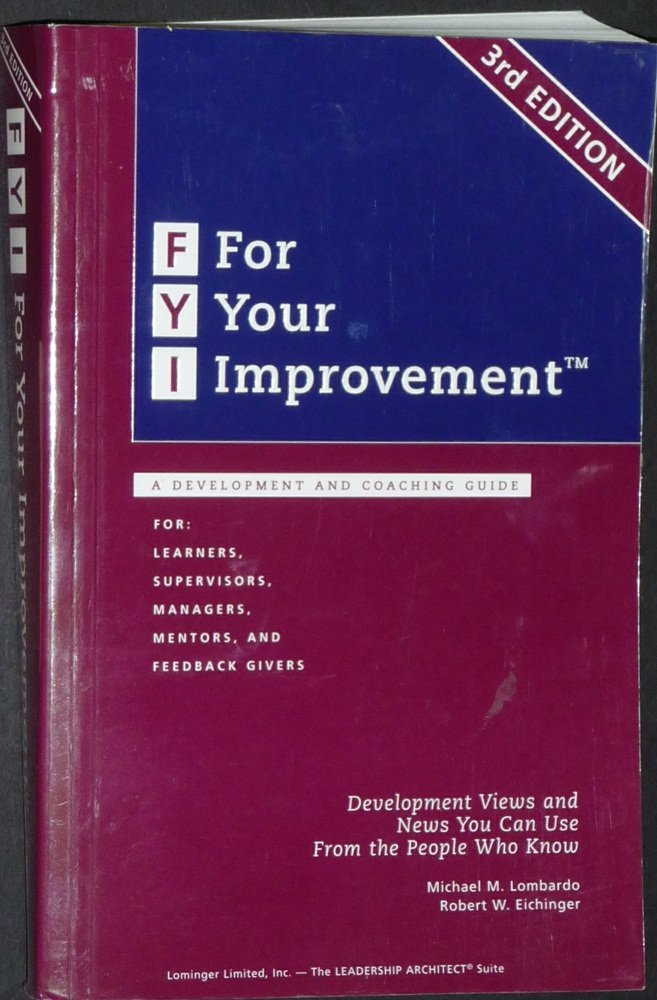 FYI Improvement Development Coaching Guide product image