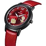 WWOOR Butterfly Flower Women Watches Quartz-watch coupons for Vintage Waterproof Watch WR0005