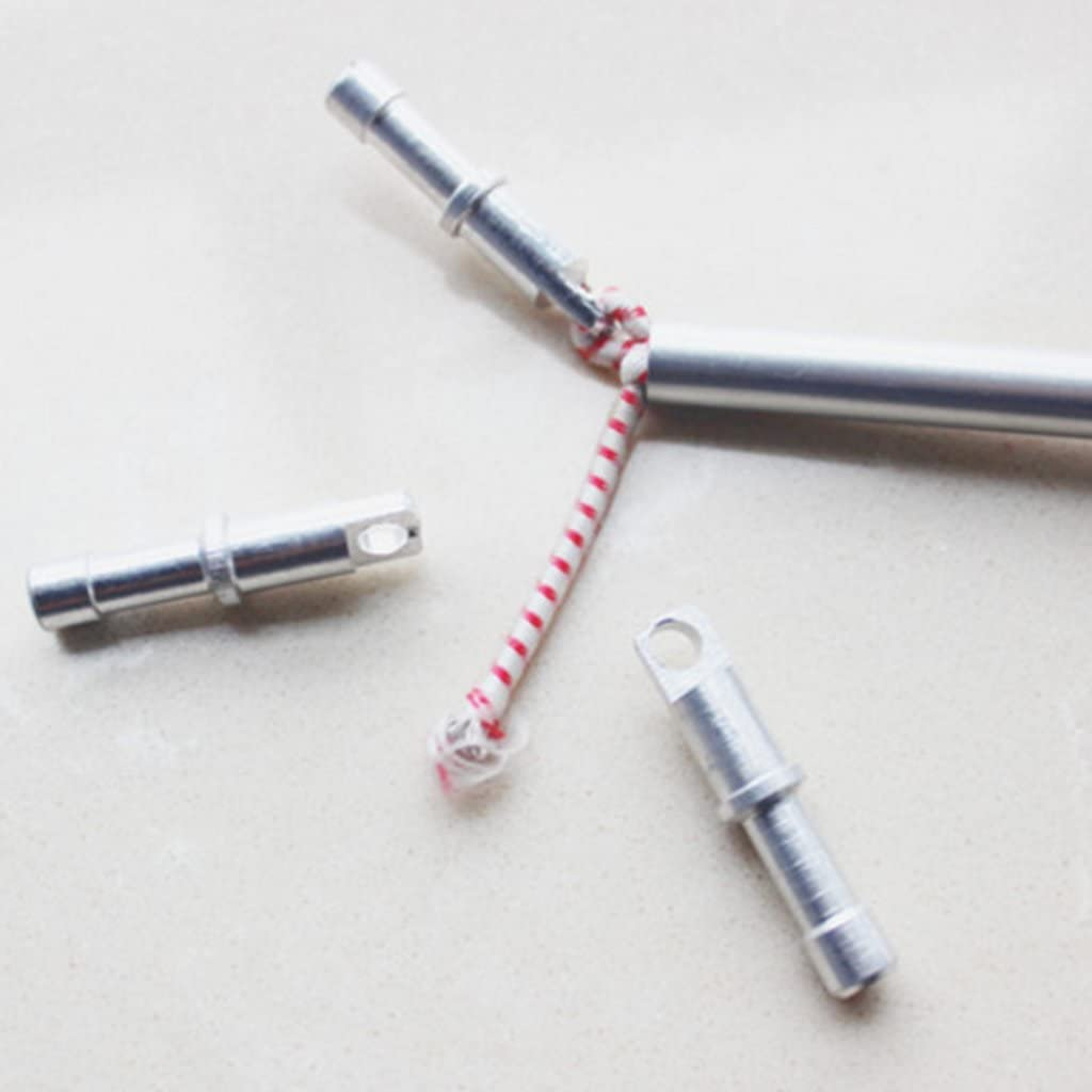 8,5 Mm T TOOYFUL 5 X Leichte Aluminium Ersatz Zeltstangen Endstopfen F/ür 7,9 Mm