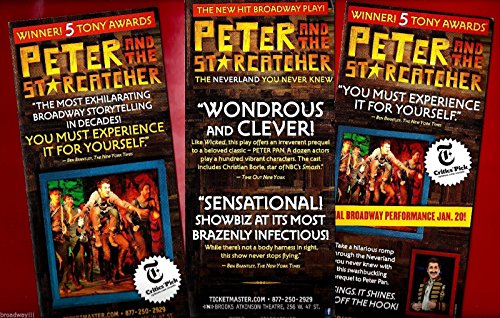 christian-borle-peter-and-the-starcatcher-celia-keenan-bolger-2012-flyer-set