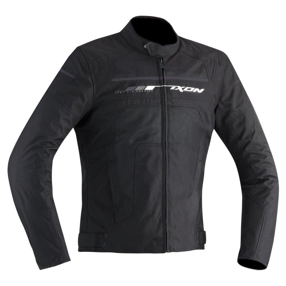 Taille M Noir//Gris Ixon Blouson Moto Homme Helios
