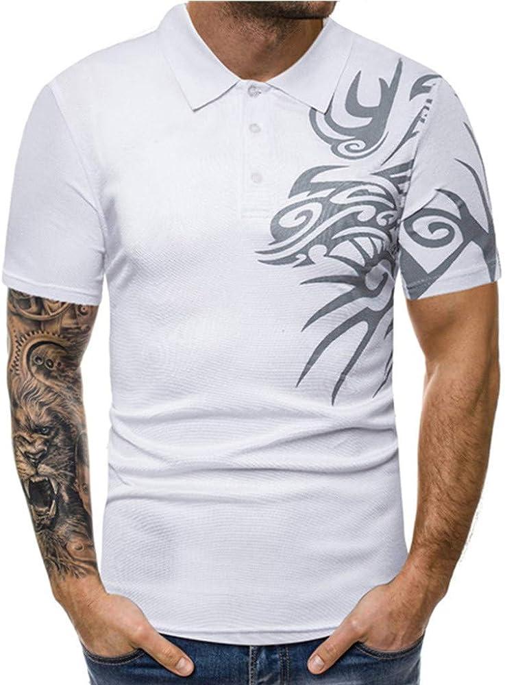 Worsworthy Camiseta de Polo con Estampado de Personalidad para ...