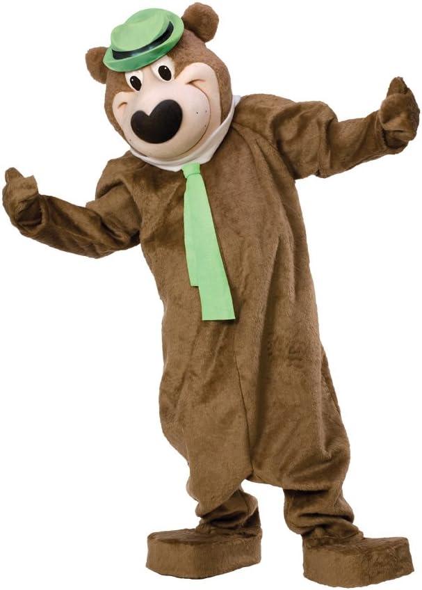 Generique - Disfraz Mascota Oso Yogi Adulto: Amazon.es: Juguetes y ...